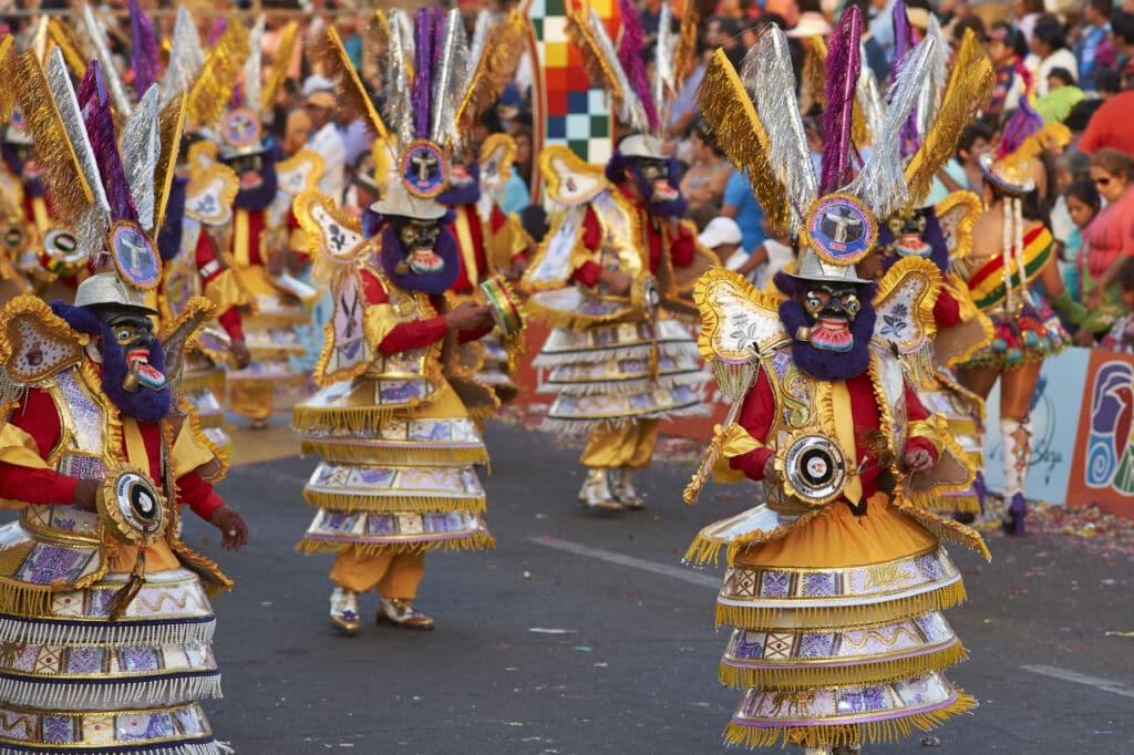 El carnaval de Arica, cosas que hacer en el norte de Chile