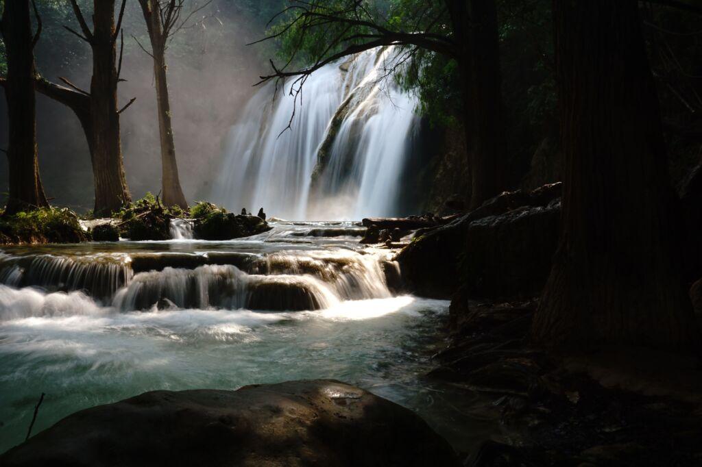 qué ver en Chiapas: las cascadas de El Chiflón