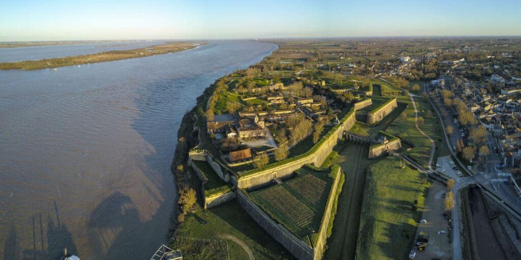 la citadela de Blaye es una de las cosas que ver en los alrededores de Burdeos