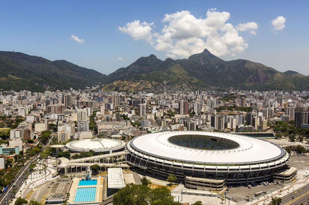 Estadio Maracaná de las Olimpiadas en Río