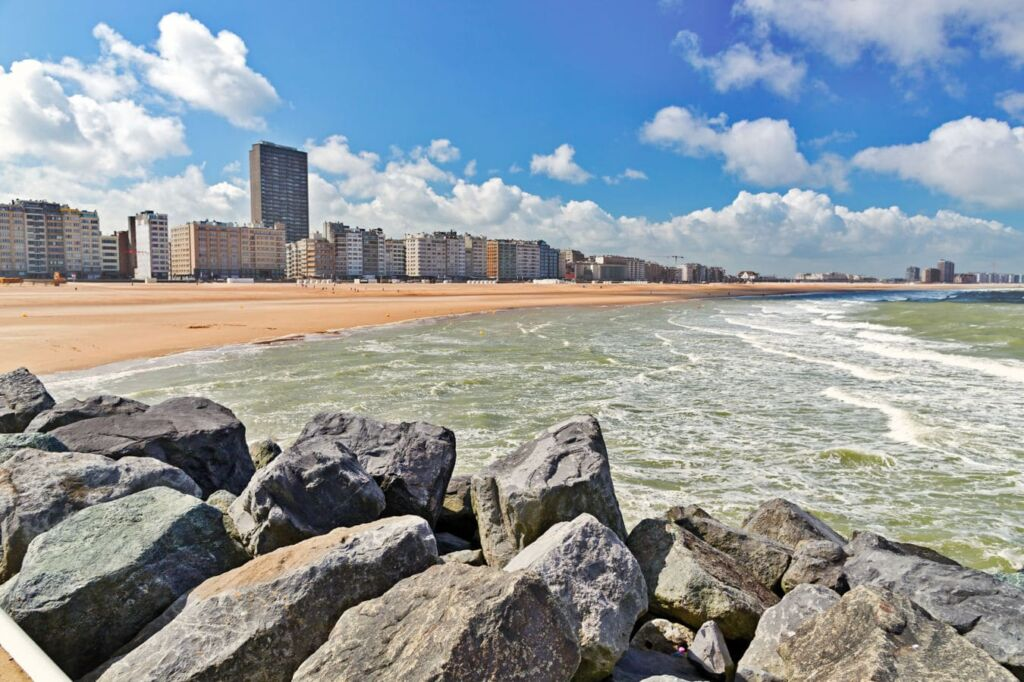 Ostende en Bélgica olimpiadas de Amberes. Ciudades olímpicas