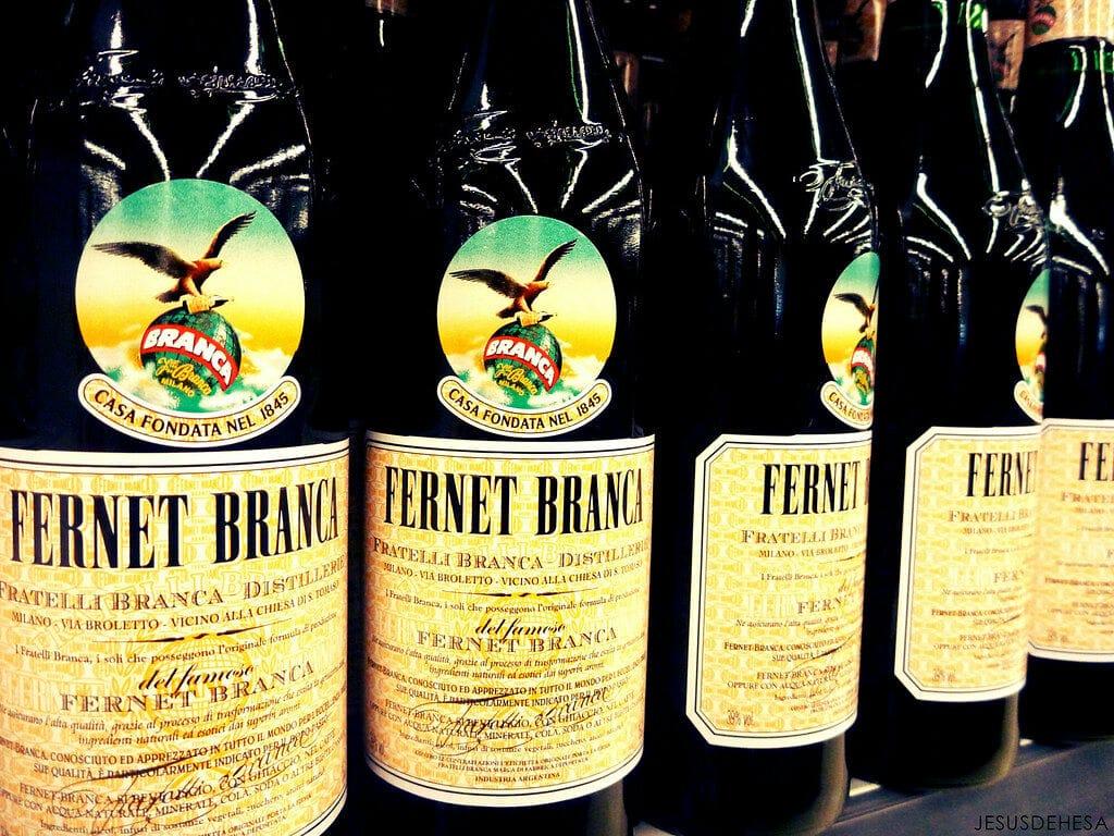 Fernet Branca, una de las bebidas más típicas de Argentina