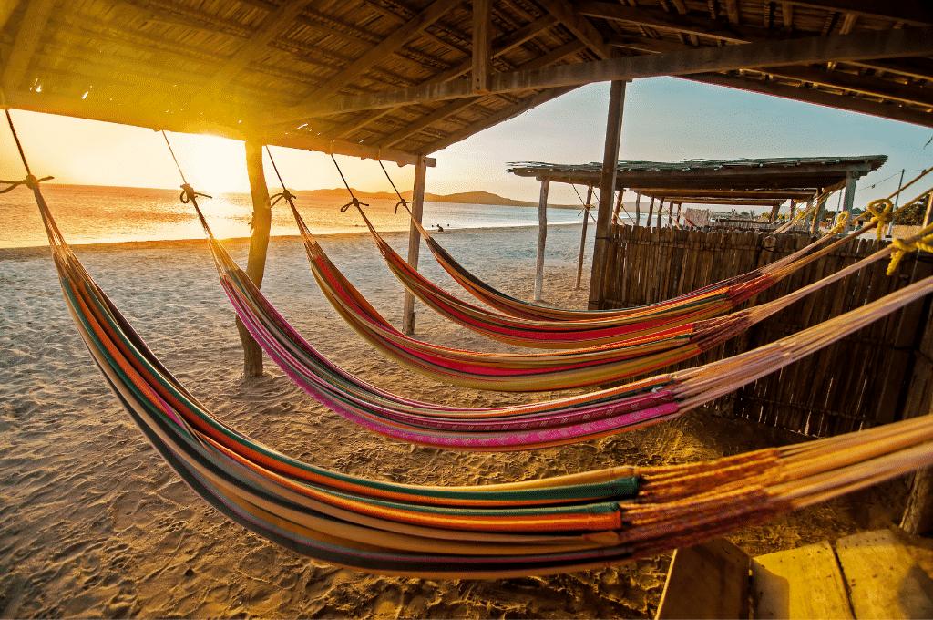 hamacas para dormir en Guajira