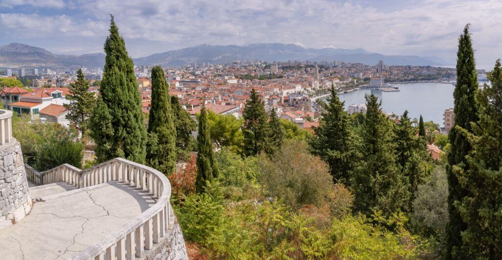 Marjan Park en Crocia en Split, viajar a Croacia