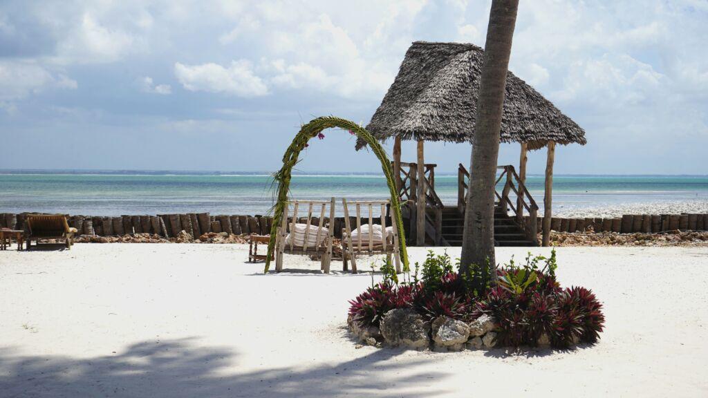 playas de Zanzíbar. Michamvi es la mejor de Tanzania