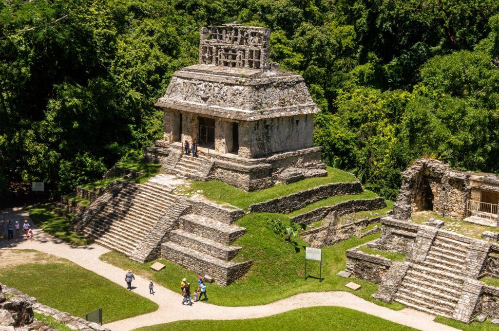 Palenque, una zona arqueológica que ver en Chiapas, México