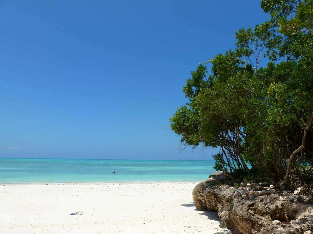 Michamvi es una zona de playa muy tranquila