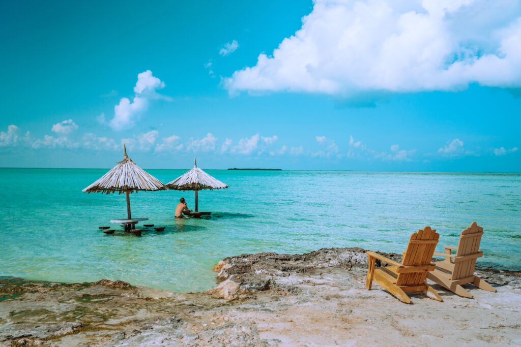 playa secreta de San Pedro en Belice