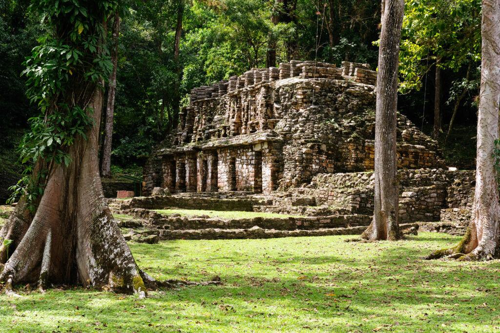 Yaxchilan, parada durante un road trip por Chiapas