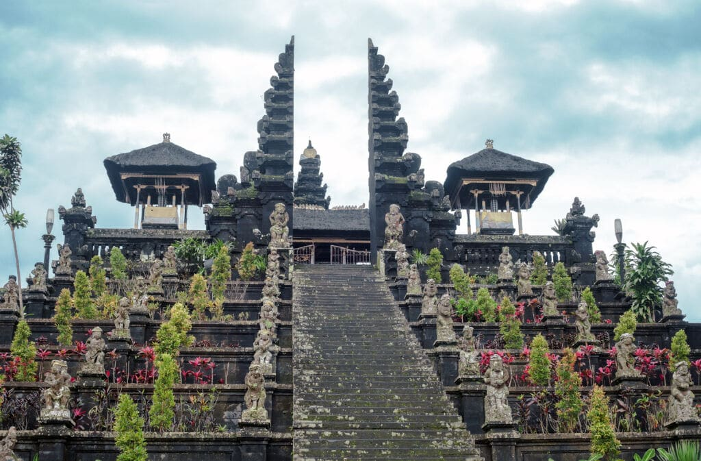Besakih, templo famoso en Bali