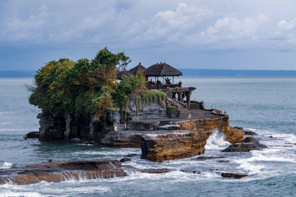 Tanah Lot en Indonesia