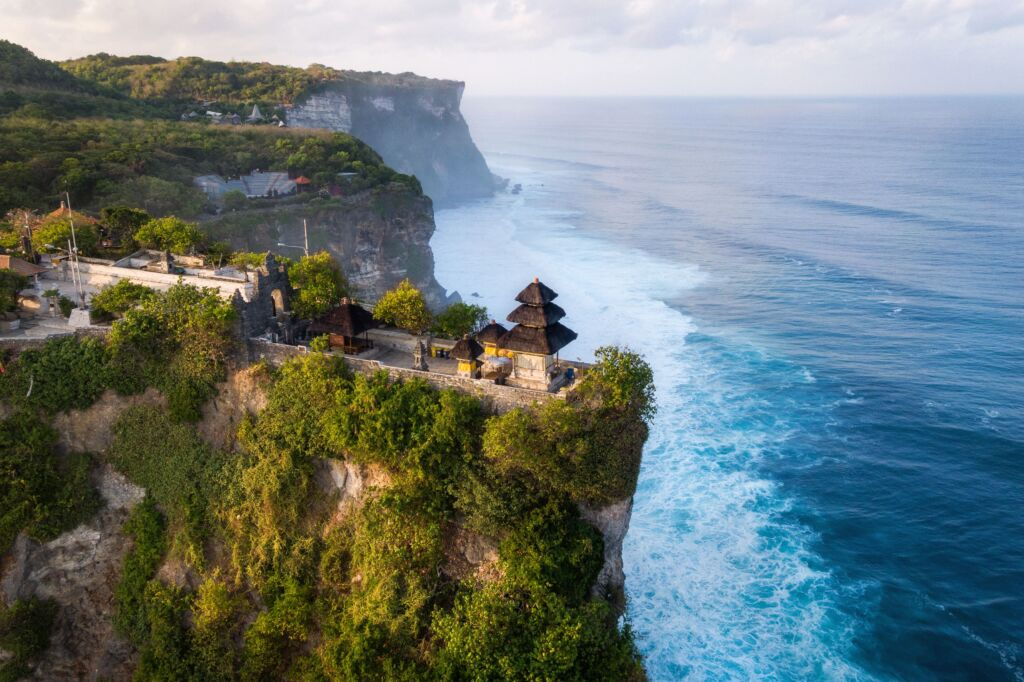 Uluwatu es un templo importante en Bali