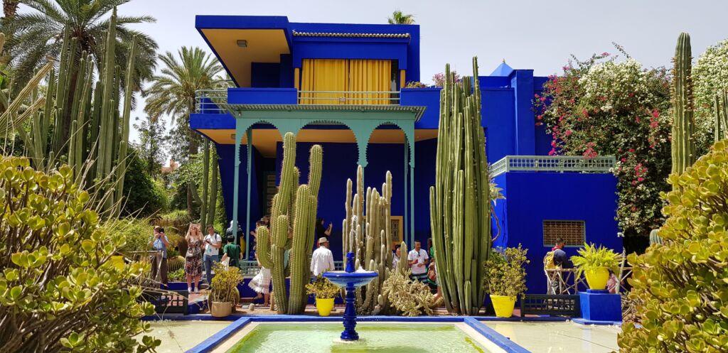 Jardines Majorelle es un imprescindible en Marrakech
